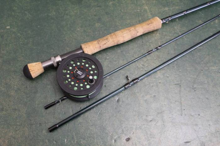 Lineaeffe Fly Fishing Graphite Reel For Lines 3//4 Trout Game Fishing